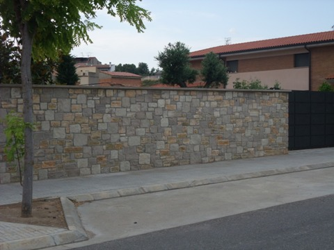 Murs de pedra natural - Muro de piedra natural ...