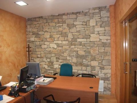 Parets de pedra natural for Piedra natural para paredes interiores